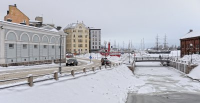Winter at the Channel