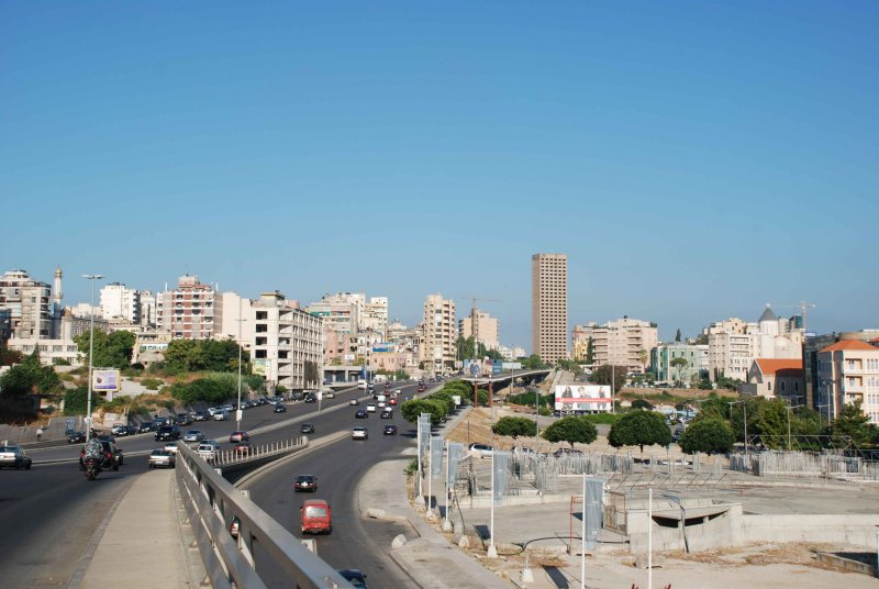 Eastern Beirut, from Tabariz