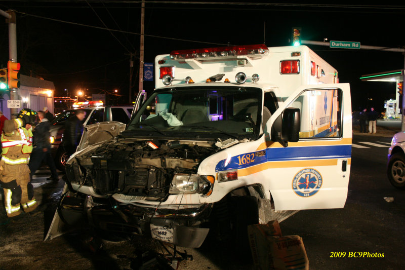 Ambulance Mishap