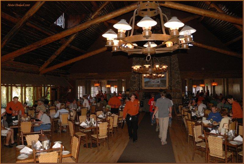 Bon 9 Old Faithful Inn Dining Room