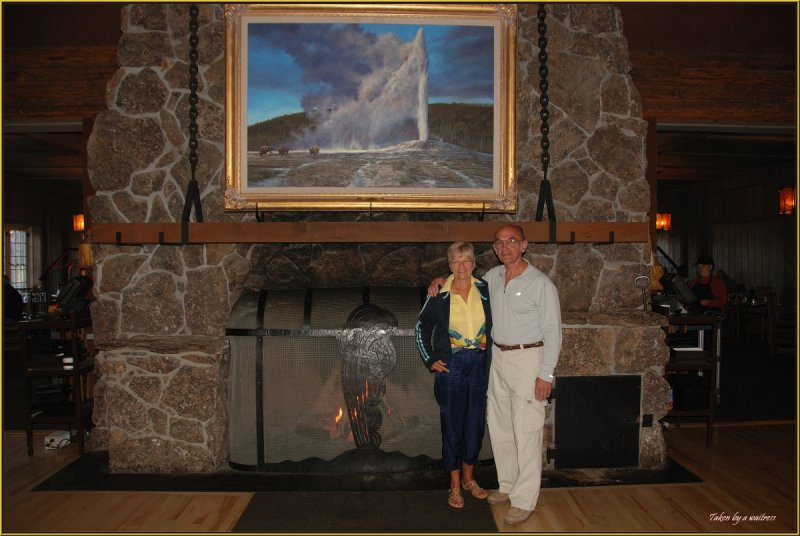 98 - Old Faithful Inn, Paulette and Nestor