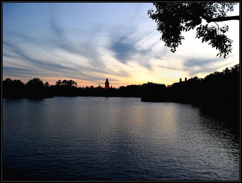 Sunset Disney Epcot