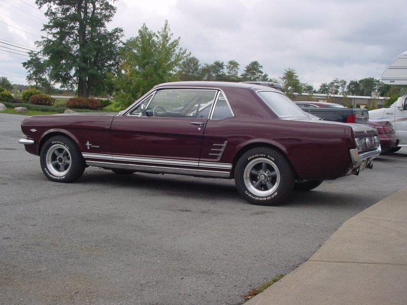 1966 Mustang 289