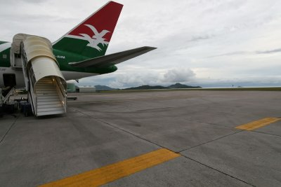 Air Seychelles : directly on...