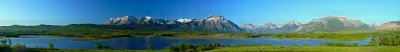 Maskinonge Lake, Waterton...a GigaPan panorama