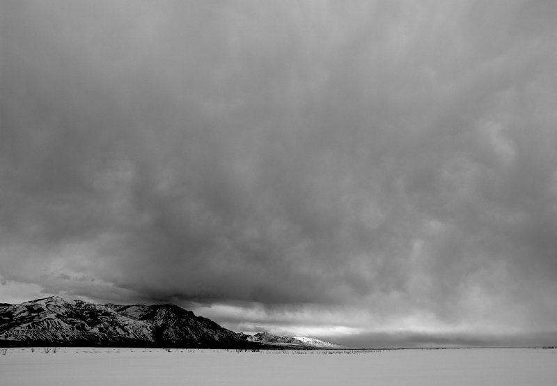 Winter Storm over Wasatch Front