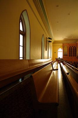 Interior - Balcony & Organ Pipes (Partial)
