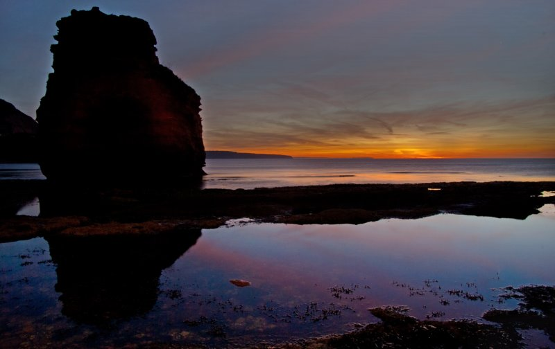 Ladram bay sunrise