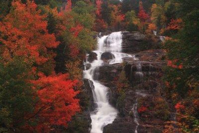 Silver Cascade in Autumn