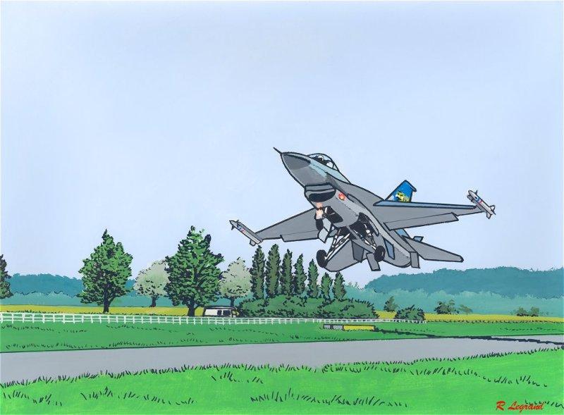Général Dynamics F16 A