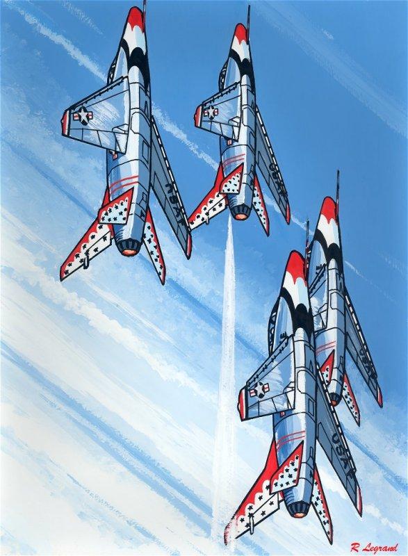 North American F 100D Super Sabre
