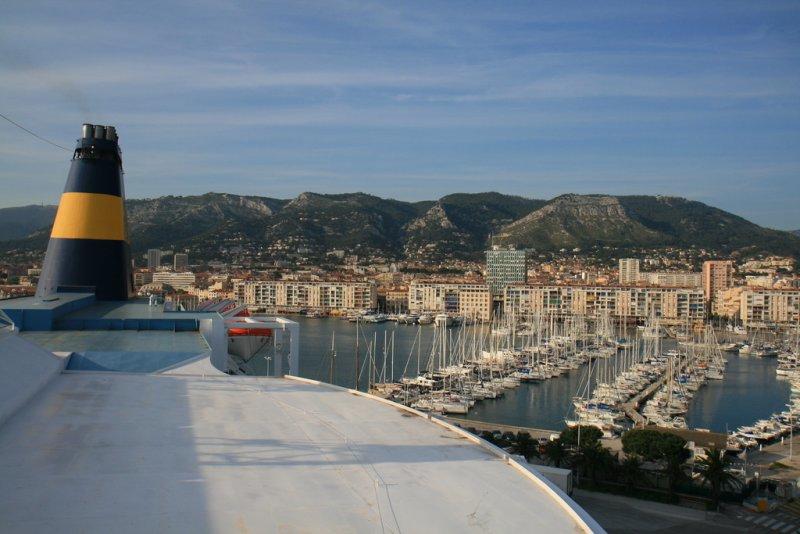 Toulon harbour.