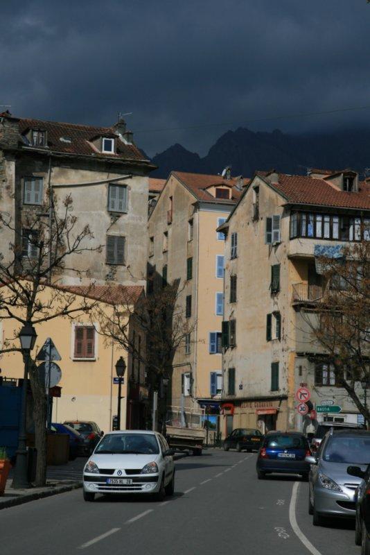 Corte, the heart of Corsica.