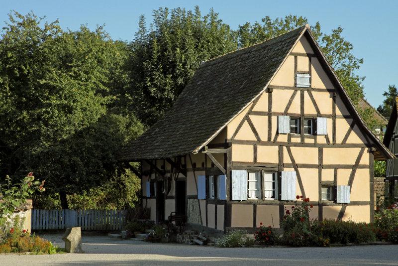 maison de village alsacien