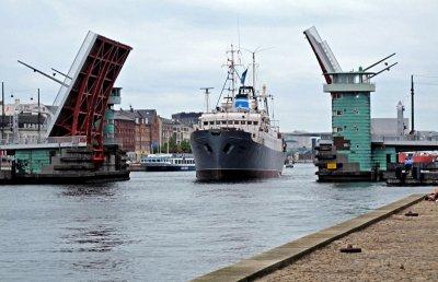 Copenhagen harbour.