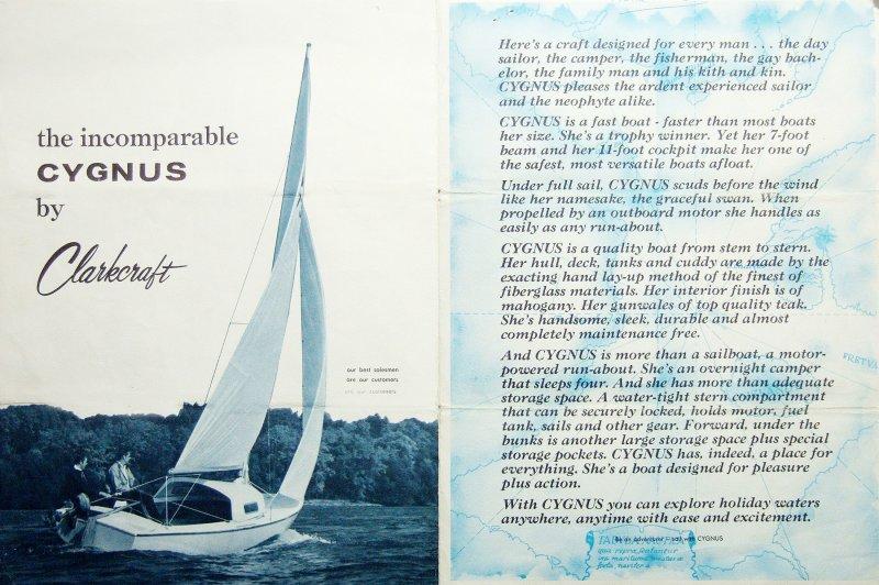 CYGNUS 20 by Clarkecraft