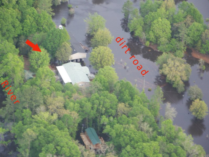 Arial view on April 10,2009