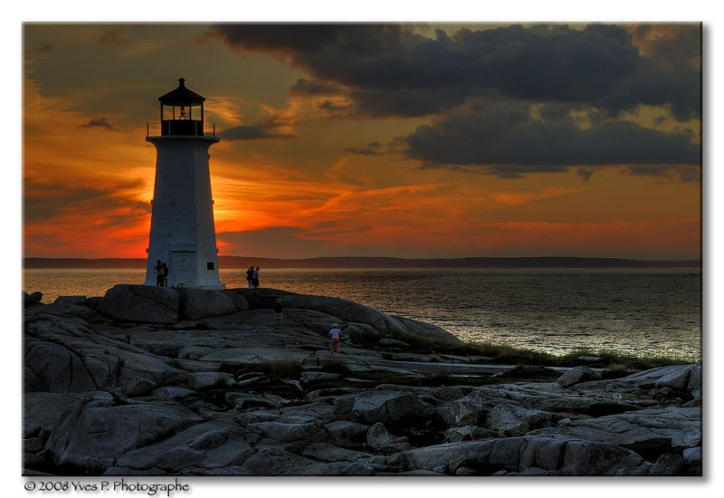Peggys Cove in HDR ...