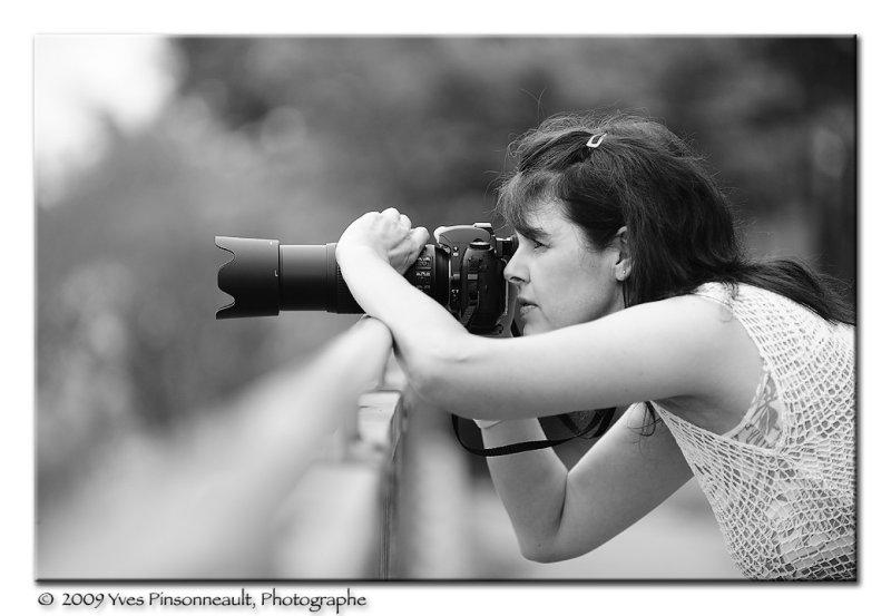 La photographe ...