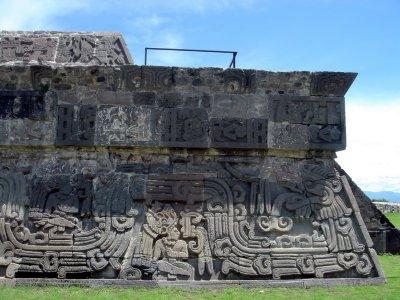 Templo de Quetzalcoatl (detalle)