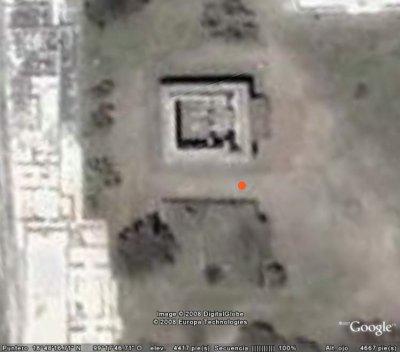 Xochicalco Templo Quetzalcoatl  costado norte