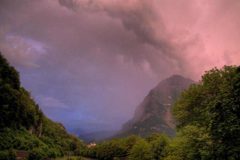 after the storm / nach dem Gewitter um 21:30 Uhr