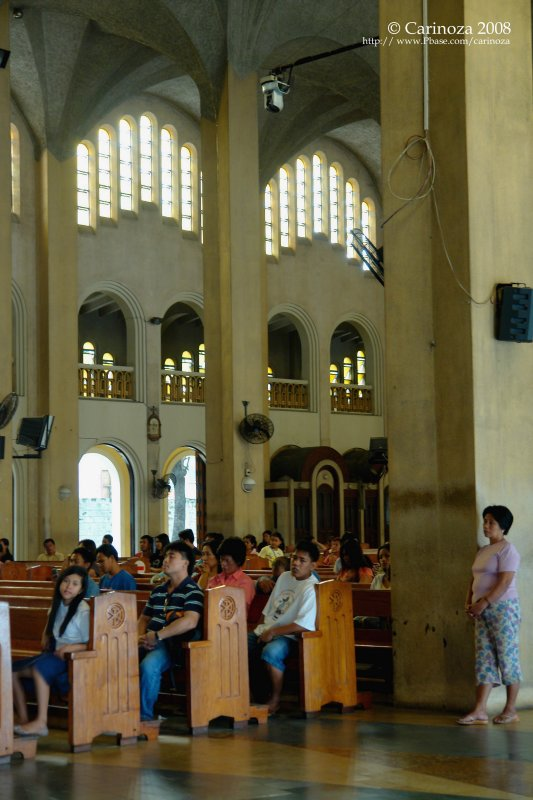 Baclaran Church: south wall