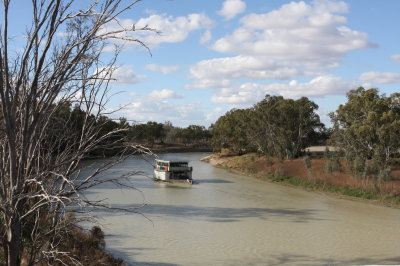 Sailing on the River Darling