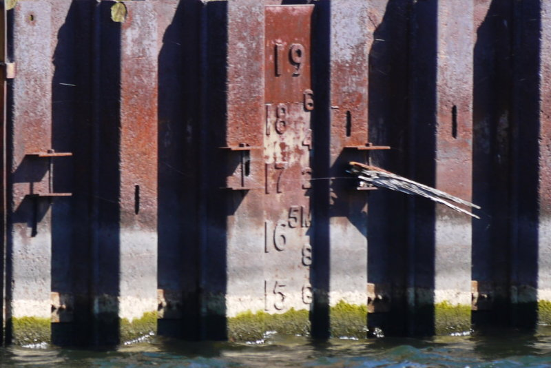 Shipyards Dry Dock Water Level Sept 30, 2012 @ 1345