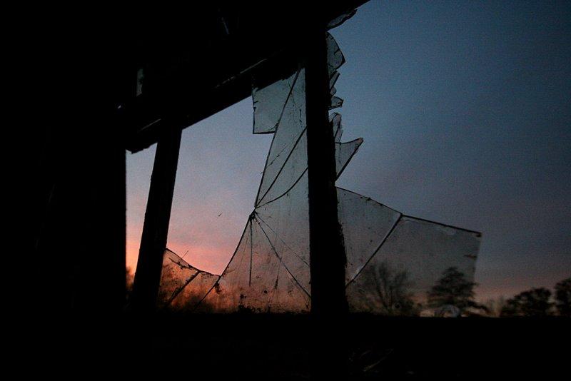 Cracked Sunset