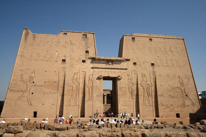 Pylons of Temple of Horus/Edfu