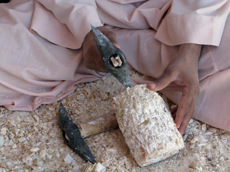 alabaster carver