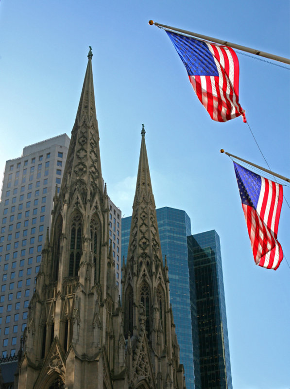 Seeing Double - St Patricks Cathedral