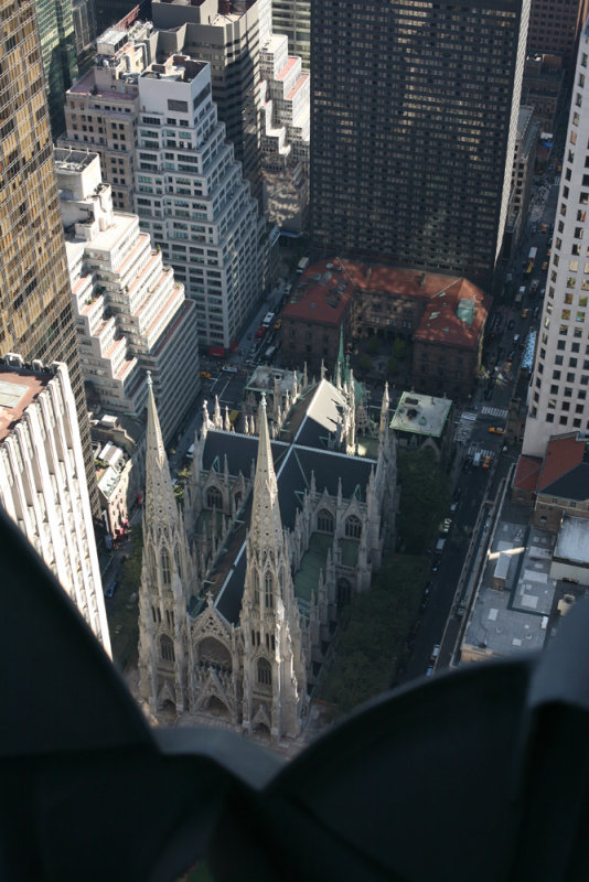 St Patricks from Above