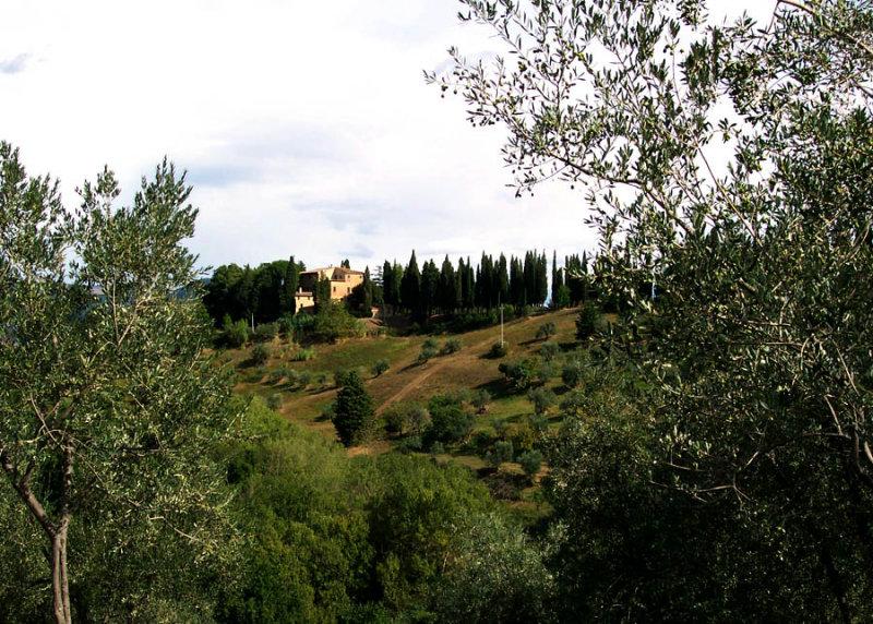 Colline Toscane, Italie