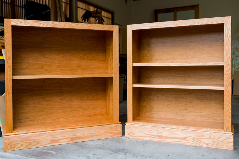 bookcases complete