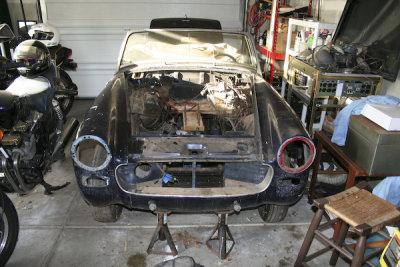 Sprite Mk III restoration