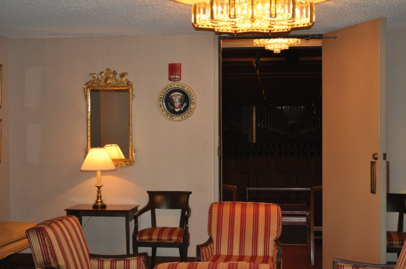 Presidential box at Kennedy Center