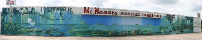McNamara Pontiac Mural in Orlando, FL