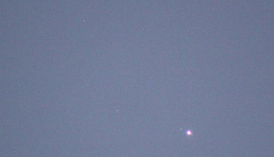 Jupiter and Uranus