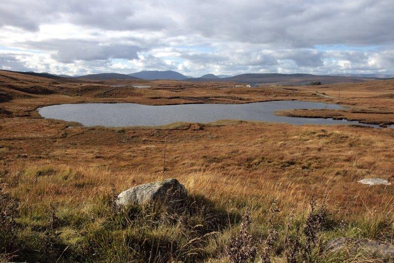 Connemara bog landscape