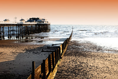 Cromer Pier with tone change