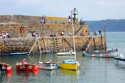 Clovelly Harbour