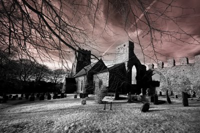 The Church and old Priory at Weybourne