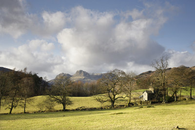 A view of the Langdales