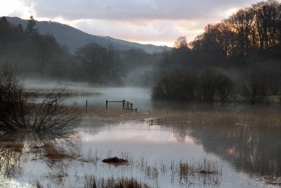Early Morning, River Brathay, Cumbria