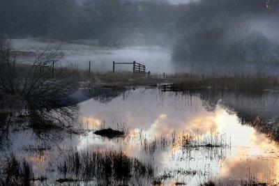 Dawn, River Brathay, Cumbria