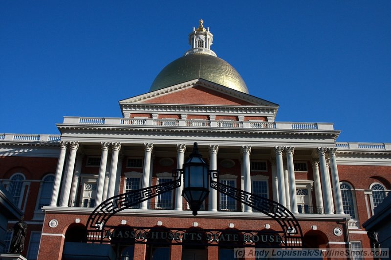 Massachusetts State Capitol - Boston
