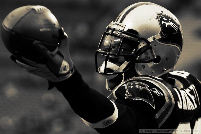 Carolina Panthers WR Dwayne Jarrett