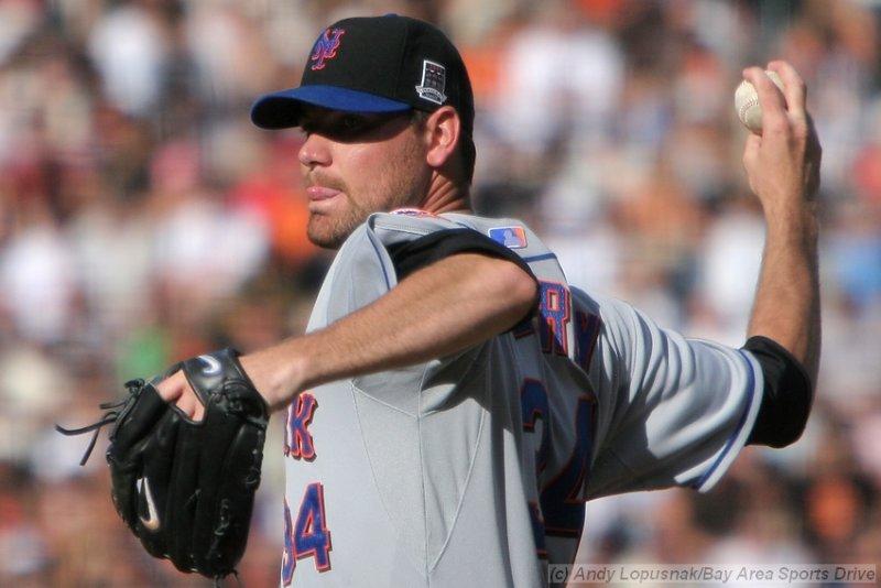 New York Mets pitcher Mike Pelfrey